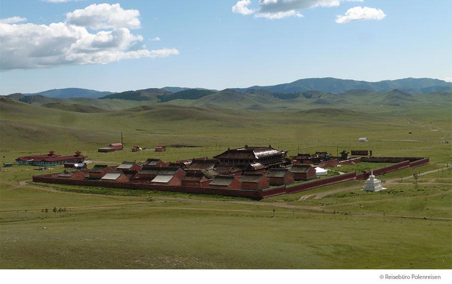 POLENREISEN TRIFFT DIE WELT: MONGOLEI